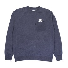 View the Rip N Dip Lord Nermal Crew Neck - Blue from the Hoods and Crews clothing range online today from Boarderline