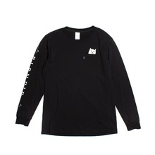 View the Rip N Dip Lord Nermal Long Sleeve - Black from the T-Shirts clothing range online today from Boarderline