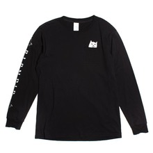 View the Rip N Dip Lord Nermal Longsleeve - Black from the T-Shirts clothing range online today from Boarderline