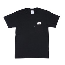 View the RIP N DIP - LORD NERMAL POCKET TEE - BLACK from the T-Shirts clothing range online today from Boarderline