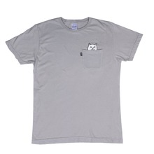 View the Rip N Dip Lord Nermal Pocket T-Shirt - Grey from the T-Shirts clothing range online today from Boarderline