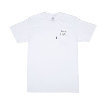 View the RIP N DIP LORD NERMAL POCKET T-SHIRT - WHITE from the T-Shirts clothing range online today from Boarderline