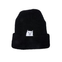 View the RIP N DIP LORD NERMAL RIBBED BEANIE - BLACK from the Beanies clothing range online today from Boarderline
