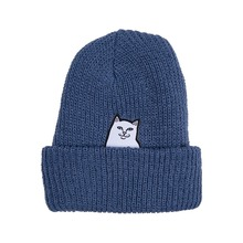 View the RIP N DIP LORD NERMAL RIBBED BEANIE - BLUE from the Beanies clothing range online today from Boarderline