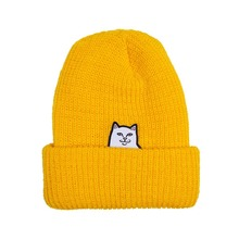 View the RIP N DIP LORD NERMAL RIBBED BEANIE - GOLD from the Beanies clothing range online today from Boarderline