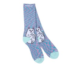 View the Rip N Dip Lord Nermal Socks - Mint Speckle from the Socks clothing range online today from Boarderline