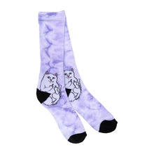 View the Rip N Dip Lord Nermal Socks - Purple Speckle from the Socks clothing range online today from Boarderline