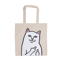 View the Rip N Dip Lord Nermal Tote Bag - Natural from the Accessories clothing range online today from Boarderline