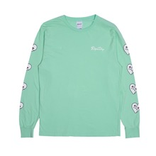 View the RIP N DIP LOVE NERMS LONG SLEEVE - MINT from the T-Shirts clothing range online today from Boarderline