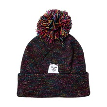 View the Rip N Dip Lord Nermal Pom Beanie - Black Multi from the Beanies clothing range online today from Boarderline