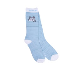 View the RIP N DIP PEEK A NERMAL SOCKS - BABY BLUE/WHITE from the Socks clothing range online today from Boarderline