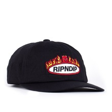 View the Rip N Dip Welcome to Heck Snapback Cap - Black  from the Snapbacks, 6 Panel Caps clothing range online today from Boarderline