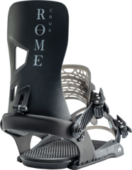 View the Rome Crux Snowboard Bindings - Black from the Mens clothing range online today from Boarderline