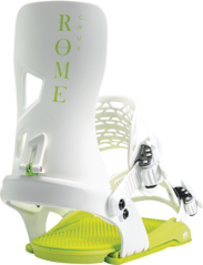 View the Rome Crux Snowboard Bindings - White from the Mens clothing range online today from Boarderline
