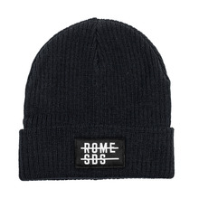 View the Rome Division Beanie - Black from the Beanies clothing range online today from Boarderline