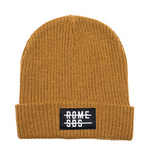 View the Rome Division Beanie - Brown from the Beanies clothing range online today from Boarderline
