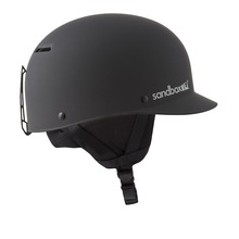 View the Sandbox Classic 2.0 Snow Helmet - Black from the Men clothing range online today from Boarderline