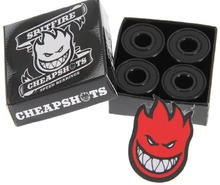 View the Spitfire Cheapshot Bearings from the Bearings/Bolts/Tools clothing range online today from Boarderline