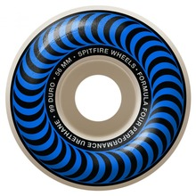 View the SPITFIRE FORMULA 4 CLASSIC WHEELS - BLUE 99DU - 56MM from the Wheels clothing range online today from Boarderline