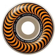 View the SPITFIRE FORMULA 4 CLASSIC WHEELS - ORANGE 99DU - 53MM from the Wheels clothing range online today from Boarderline