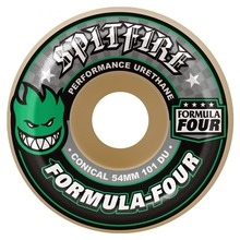 View the Spitfire Formula Four Conical Wheels 101d - 54mm from the Wheels clothing range online today from Boarderline