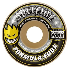 View the Spitfire Formula Four Conical Wheels 99d - 52mm from the Wheels clothing range online today from Boarderline