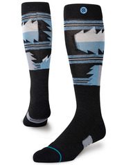 View the Stance Cadiz Snow Socks - Black from the Mens Snowboard Socks clothing range online today from Boarderline