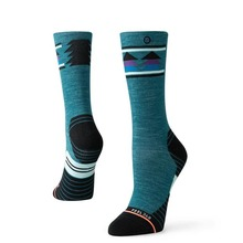 View the Stance Celestial Hike WM Socks - Green from the Socks clothing range online today from Boarderline