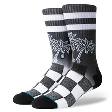 View the STANCE DIPPED SOCKS - BLACK from the Socks clothing range online today from Boarderline