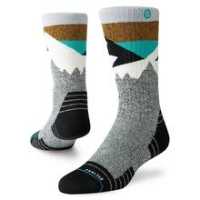 View the Stance Divide Hike Socks - Black from the Socks clothing range online today from Boarderline
