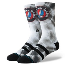 View the STANCE GRATEFUL DYE SOCKS - BLACK from the Socks clothing range online today from Boarderline