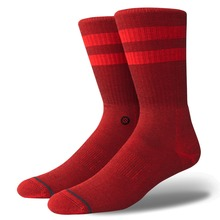 View the Stance Joven Socks - Red from the Socks clothing range online today from Boarderline