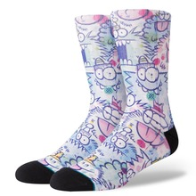 View the Stance Kevin Lyons Watercolour Socks - Blue from the Socks clothing range online today from Boarderline