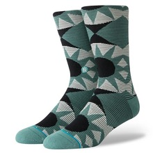 View the STANCE LENS CREW SOCKS - SEAGREEN from the Socks clothing range online today from Boarderline