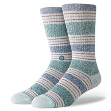 View the STANCE LESLEE CREW SOCKS - GREY from the Socks clothing range online today from Boarderline