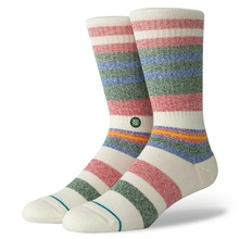 View the STANCE MUNGA CREW SOCKS - NATURAL from the Socks clothing range online today from Boarderline