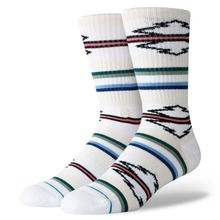 View the STANCE ODESSA CREW SOCKS - WHITE  from the Socks clothing range online today from Boarderline