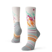 View the STANCE QUARTZ HIKE SOCKS - HEATHER OATMEAL from the Socks clothing range online today from Boarderline