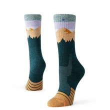 View the Stance Ridge Line Hike WM Socks - Green from the Socks clothing range online today from Boarderline