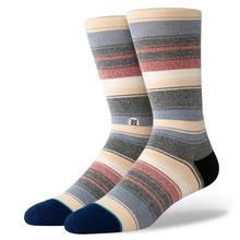 View the Stance Roman Crew Socks - Khaki from the Socks clothing range online today from Boarderline