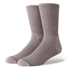 View the Stance Solid Trooper Socks - Grey from the Socks clothing range online today from Boarderline