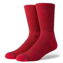 View the Stance Solid Vader Socks - Red from the Socks clothing range online today from Boarderline