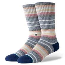 View the STANCE THIRRI SOCKS - NAVY from the Socks clothing range online today from Boarderline