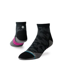 View the STANCE UPSHIFT QRT BIKE SOCKS - BLACK from the Socks clothing range online today from Boarderline