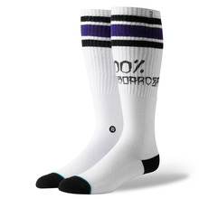 View the STANCE 100 PERCENT SOCK - WHITE from the Socks clothing range online today from Boarderline