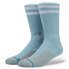 View the STANCE BK BANKS SOCK - BLUE from the Socks clothing range online today from Boarderline