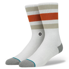 View the STANCE BOYD 3 SOCK - NATURAL from the Socks clothing range online today from Boarderline