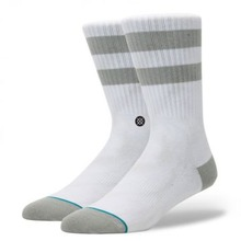 View the STANCE DAYBREAKER SOCK - WHITE from the Socks clothing range online today from Boarderline