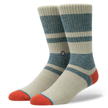 View the STANCE FIRST POINT SOCK - RED from the Socks clothing range online today from Boarderline