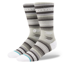View the Stance Guadalupe Socks - Grey from the Socks clothing range online today from Boarderline